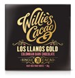 Willie's, Los Llanos Gold, Colombian 70% dark chocolate bar
