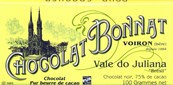 Bonnat, Vale do Juliana, Bresil, 75% dark chocolate bar