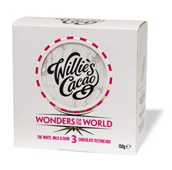 Willie's, Wonders of the World, 3 Assorted Chocolate Tasting Box
