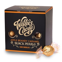 Willie's, Black Pearl, Apple Brandy Caramel Chocolates
