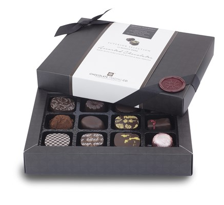 Superior Selection, 12 Dark Chocolate Gift Box