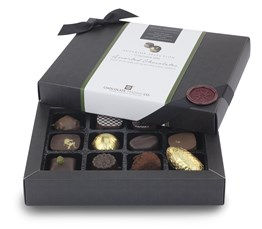 Superior Selection, 12 Alcohol Free Chocolate Gift Box