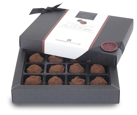 Superior Selection, 12 French Chocolate Truffles Gift Box