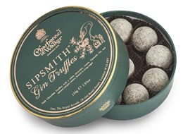 Charbonnel et Walker, Sipsmith Gin chocolate truffles