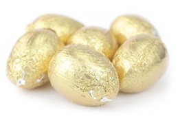 Popping Candy Milk Chocolate Easter Eggs