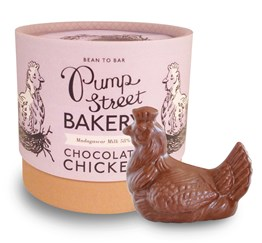 Pump Street Bakery, Single Origin, Milk Chocolate Easter Chicken