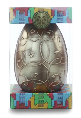 Chocolate Tree, Single Estate, Milk Chocolate & Chai Almonds Easter egg