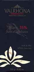 Le Blanc, 35% cocoa, white chocolate couverture