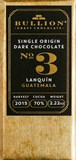 Bullion, No.3 Lanquin Guatemala, 70% dark chocolate bar