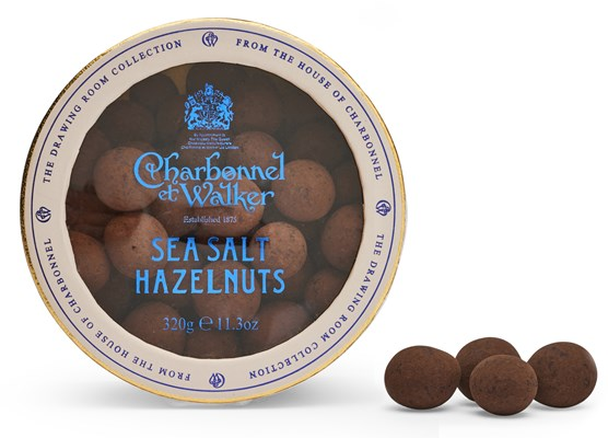Charbonnel et Walker, Milk chocolate Sea Salt Hazelnuts