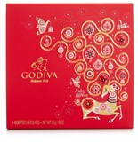 Godiva, 4 Assorted Christmas chocolate box