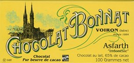 Bonnat, Asfarth Dark Milk chocolate bar