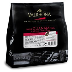 Valrhona, Guanaja 70% dark chocolate couverture 1kg