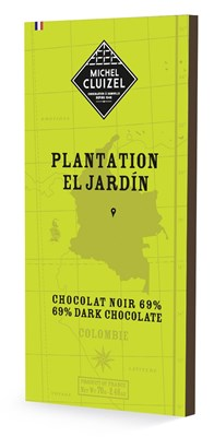 Michel Cluizel, El Jardin 69% dark chocolate bar