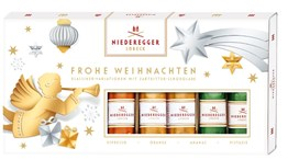 Niederegger Christmas Marzipan assorted loaves