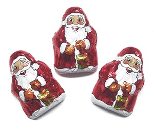 Click to view product details and reviews for Milk Chocolate Mini Santas Bulk Box Of 200.