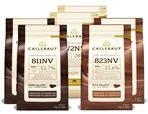 Callebaut, Milk, Dark & White chocolate chips (6 x 1kg Bundle)