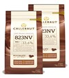 Callebaut, Milk chocolate chips (2 x 1kg Bundle)
