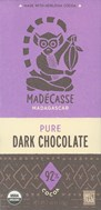 Madecasse, 92% dark chocolate bar