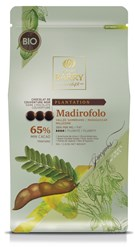 Cacao Barry, Madirofolo 65% dark chocolate chips (pistoles)