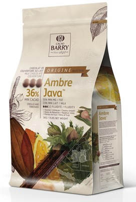 Cacao Barry, Ambre Java 36% milk chocolate chips (pistoles)