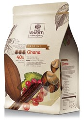 Cacao Barry, Ghana 40% milk chocolate chips (pistoles)