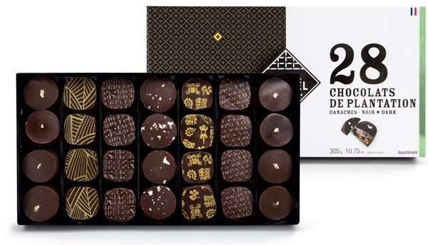 Single Estate dark chocolate gift box