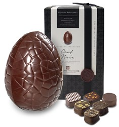 Oeuf Noir, Superior dark chocolates Easter egg