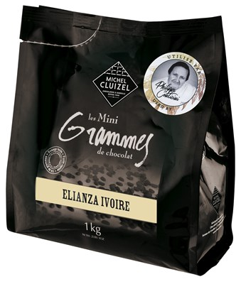 Michel Cluizel, Elianza Ivoire, white chocolate couverture chips
