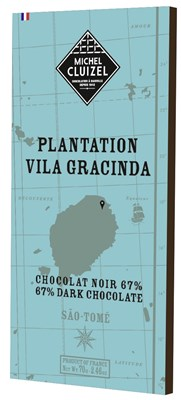 Michel Cluizel, Plantation Vila Gracinda, 67% dark chocolate bar