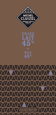 Michel Cluizel, Grand Lait 45% milk chocolate bar