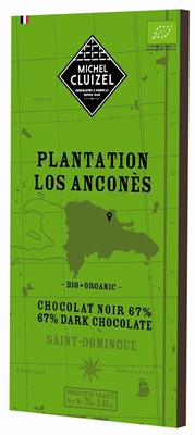 Michel Cluizel, Plantation Los Ancones, 67% dark chocolate bar