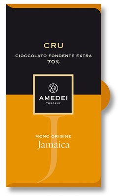 Amedei, Jamaica, 70% dark chocolate bar