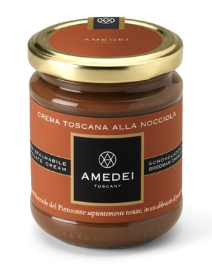 Amedei, Gianduja milk chocolate spread