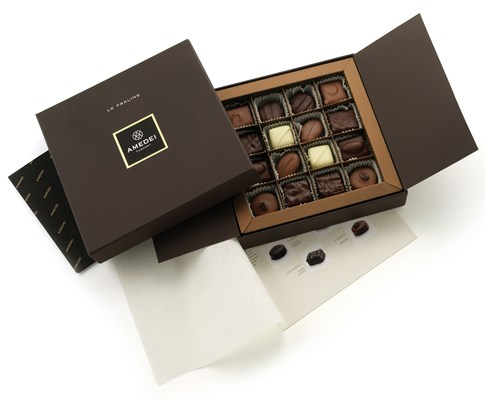 Amedei, Le Praline, assorted chocolate box
