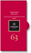Amedei, Toscano Black, 63% dark chocolate bar