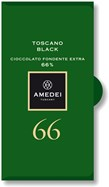 Amedei, Toscano Black, 66% dark chocolate bar