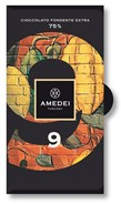 Amedei, No.9, 75% dark chocolate bar