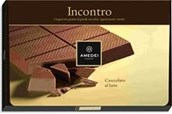 Incontro, 32% cocoa, milk chocolate couverture