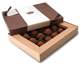 Superior Selection, French dusted chocolate truffles