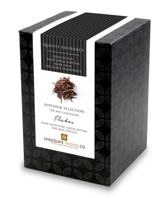 Superior Selection, Drinking Chocolate Flakes, Chocolate Gift Cube