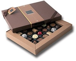 superior selection, assorted chocolate box