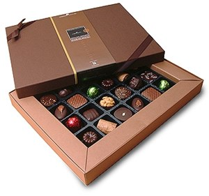 Superior Selection Dark Chocolate Gift Box - Chocolate Trading Company