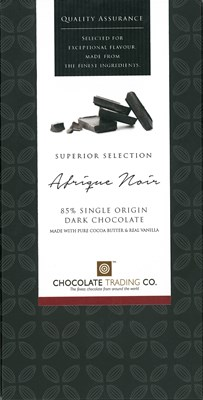 Afrique Noir, 85% dark chocolate bar