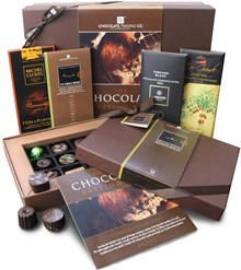 dark chocolate tasting hamper