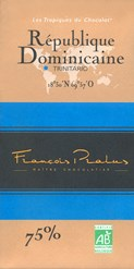 Pralus dominican republic chocolate bar