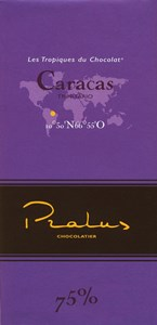 Click to view product details and reviews for Pralus Caracas 75 Dark Chocolate Bar.