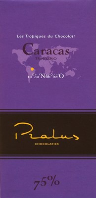 Pralus caracas dark chocolate bar