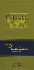 Pralus colombie dark chocolate bar