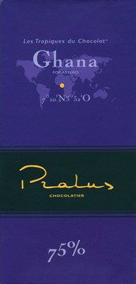 Pralus ghana dark chocolate bar
